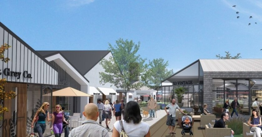 Artist's rendering of One Paseo project
