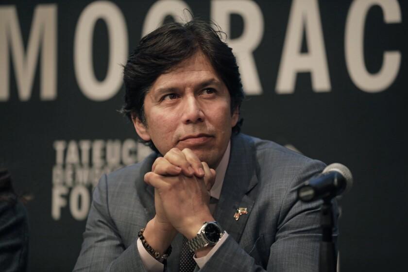 Los Angeles City Councilman Kevin de León, pictured last year.