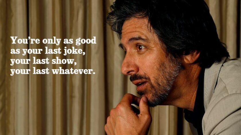 """Ray Romano talks about identifying with his """"Get Shorty"""" character."""