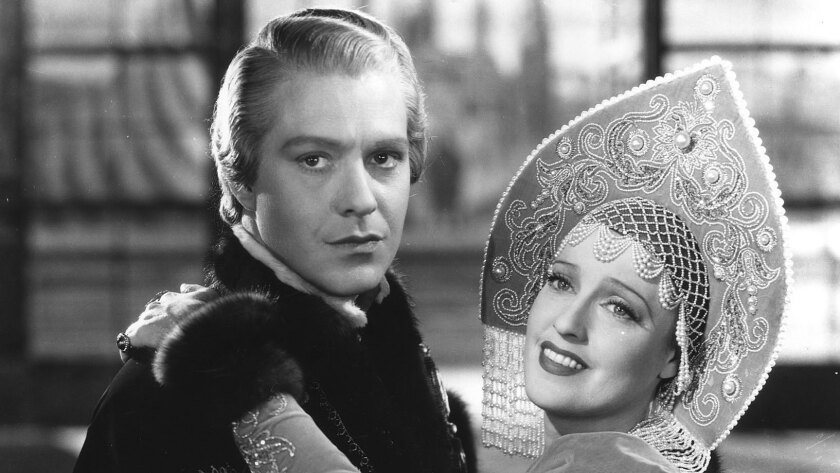 """Nelson Eddy and Jeanette MacDonald star in """"Maytime."""""""