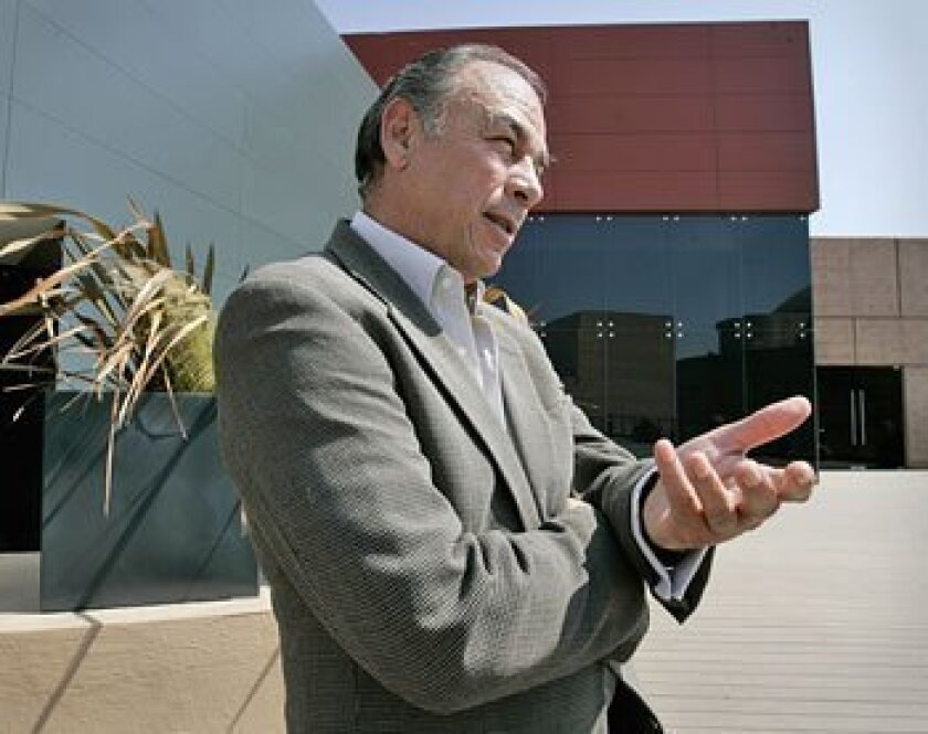 Virgilio Muñoz is the new director of the Centro Cultural Tijuana, the  city's largest cultural institution.  (Peggy Peattie / Union-Tribune)