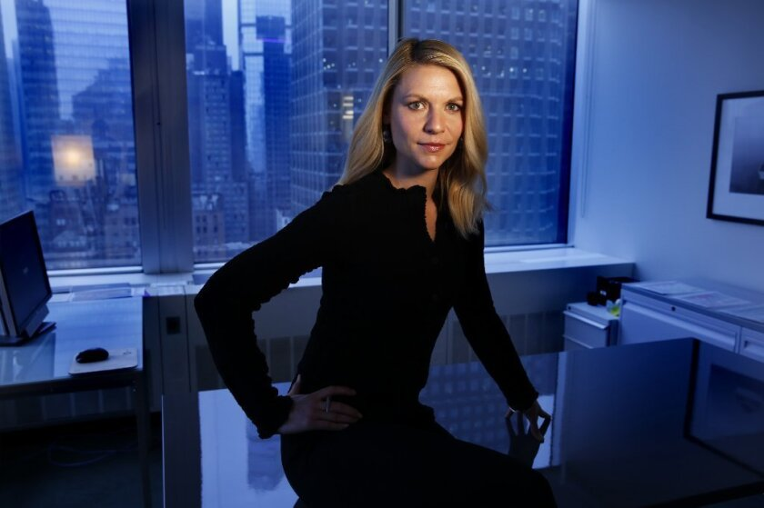 """Claire Danes stars on """"Homeland."""""""