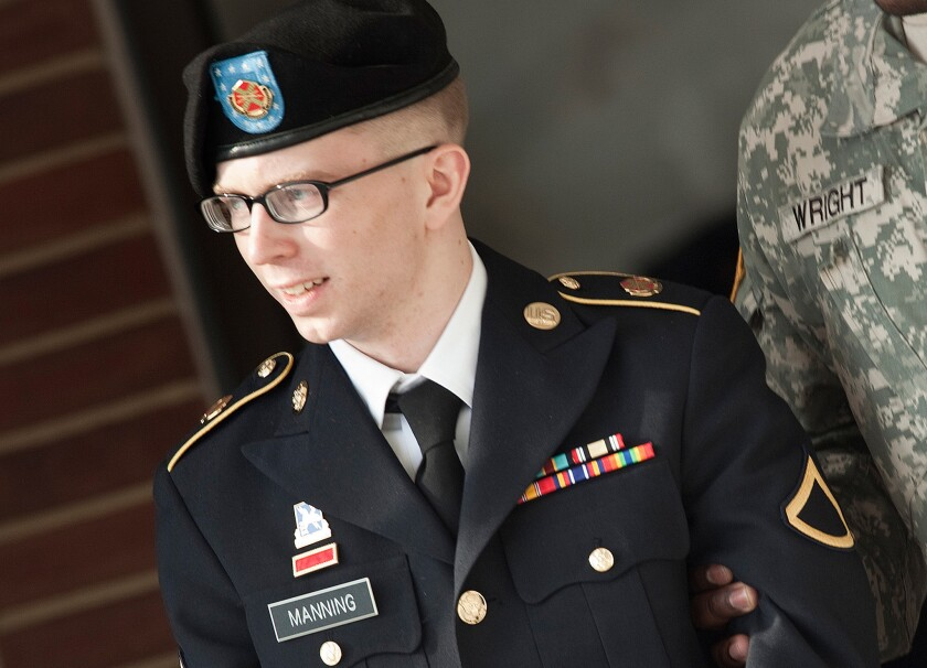 Pfc. Bradley Manning pleaded guilty to 10 charges Thursday, and will serve 20 years in prison.