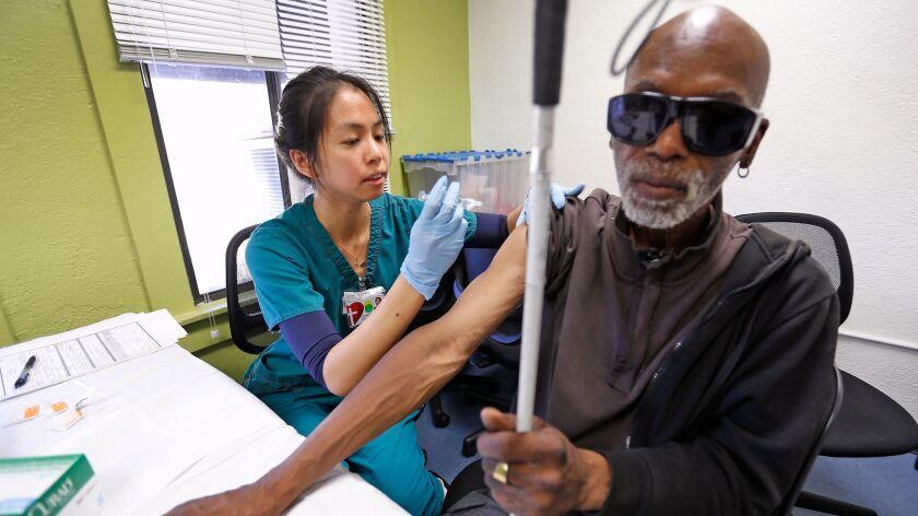 LOS ANGELES, CA – OCTOBER 17, 2017: Carolyn Angela Chen a Registered Nurse with Los Angeles Chris