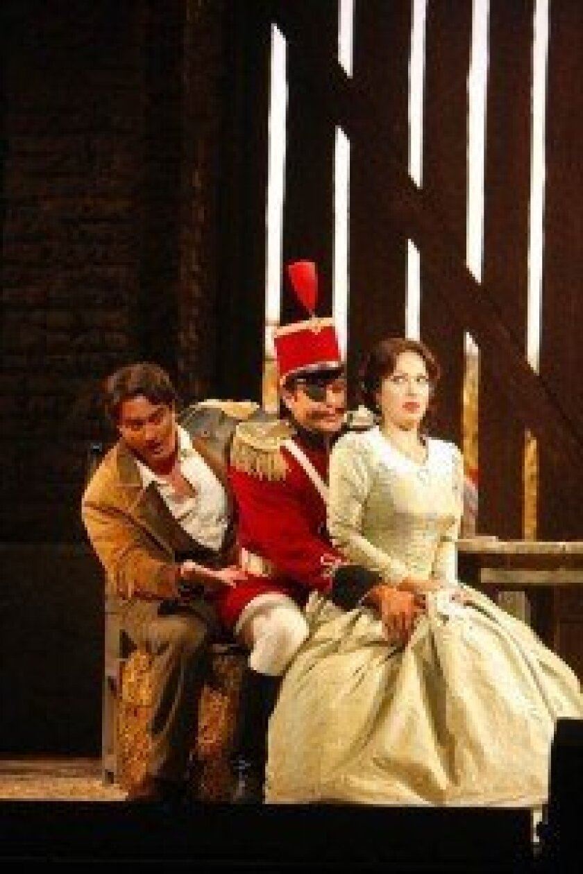 Filled with love songs and fun duets, The Elixir of Love is opera buffo at its best.
