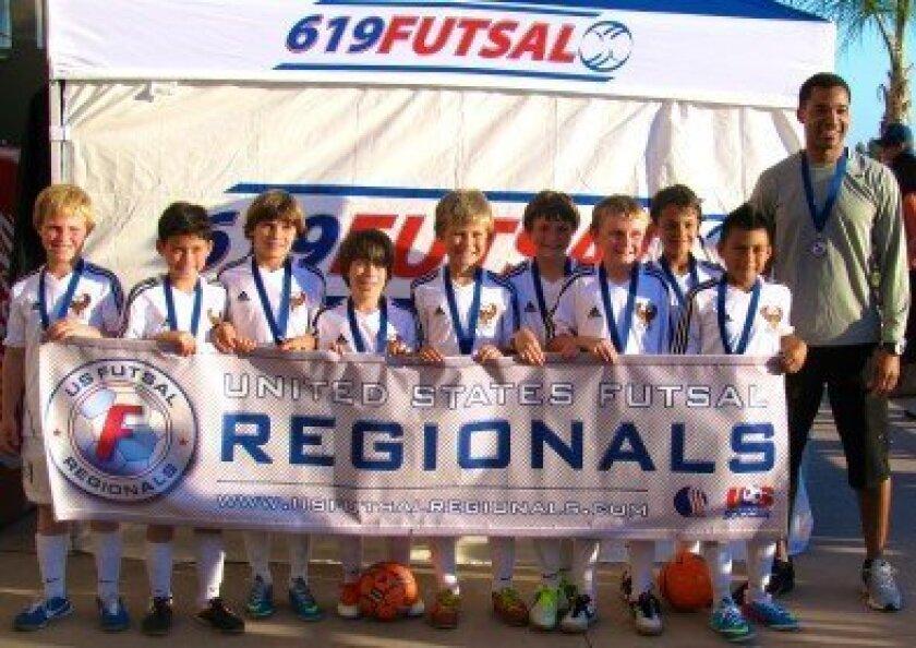 wc regional futsal champs
