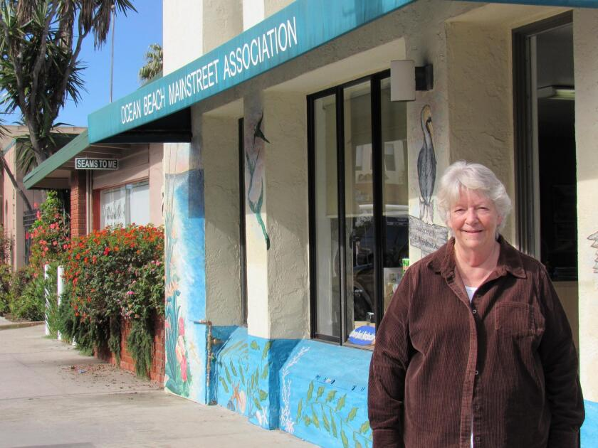 Denny Knox is executive director of the Ocean Beach Main Street Association, 1868 Bacon St. She can be reached at (619) 224-4906 or info@oceanbeachsandiego.com