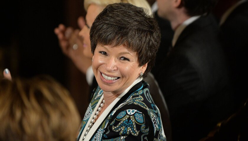 White House senior advisor Valerie Jarrett