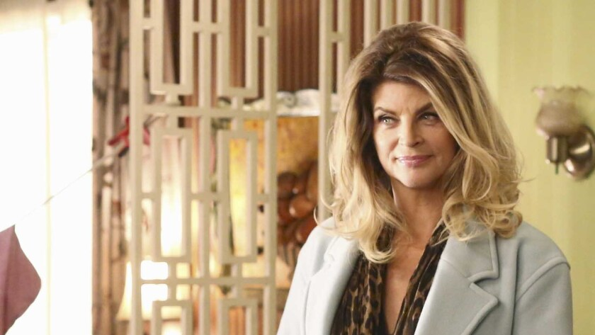 "Kirstie Alley in ""The Middle"" on ABC."