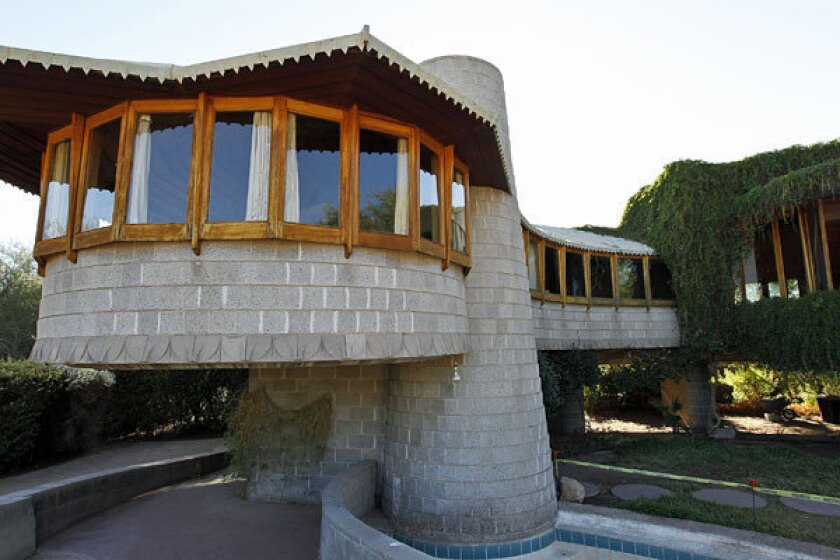 A house in Phoenix designed by Frank Lloyd Wright will go back on the market at the previously listed $2.4 million price.