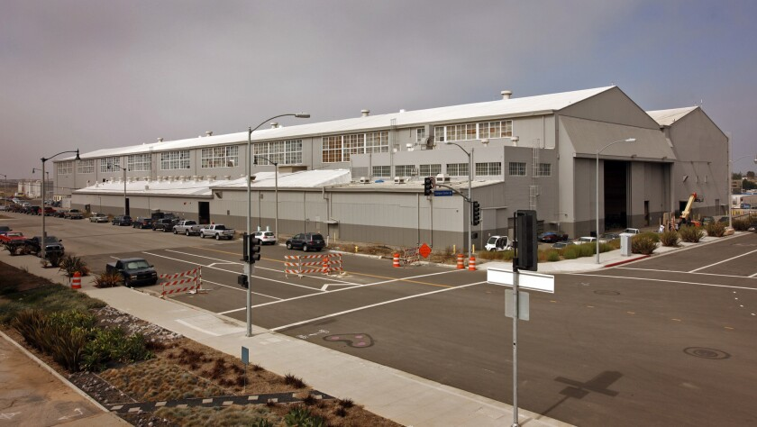 """Google is expected to lease the historic hangar where aviator Howard Hughes built his famous """"Spruce Goose"""" airplane."""