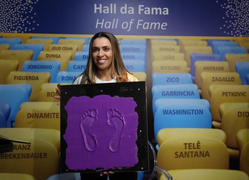 La futbolista brasileña Marta promoverá las metas de desarrollo de la ONU
