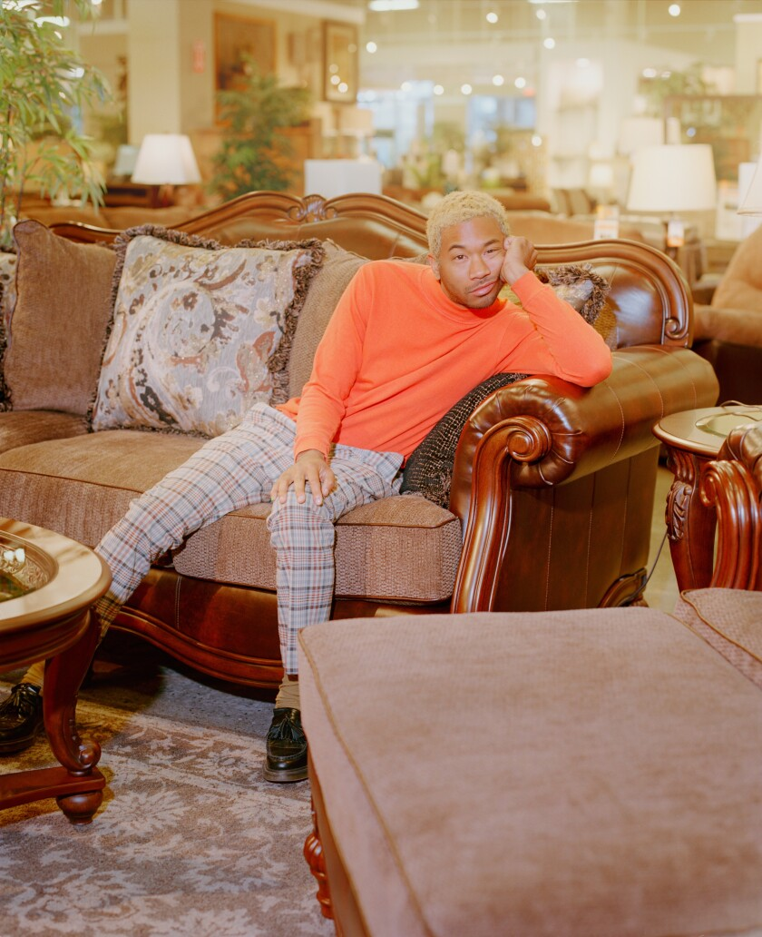 A photo of Toro y Moi - credit Jack Bool