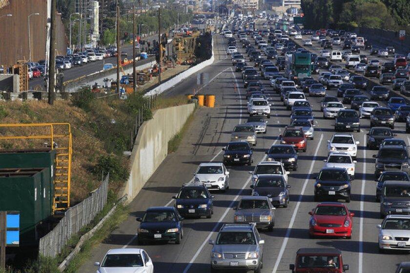 405 Freeway construction