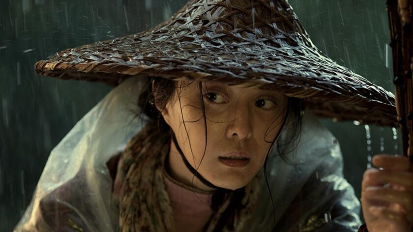 """Fan Bingbing in the movie """"I Am Not Madame Bovary."""""""
