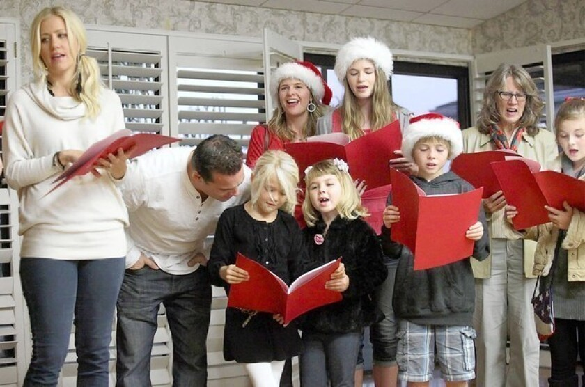 Decking the halls with song