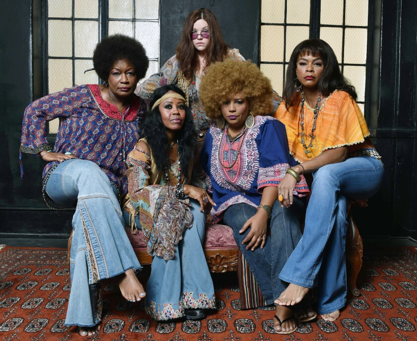 "Cast of ""A Night With Janis Joplin"""