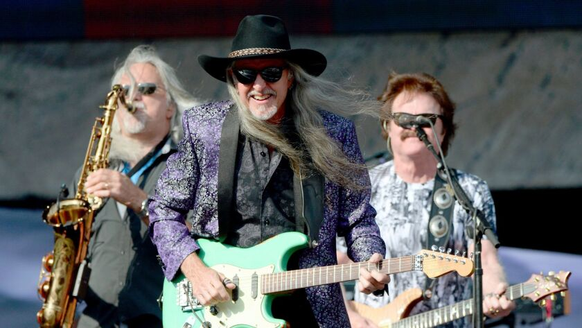 The Doobie Brothers opened the concert.