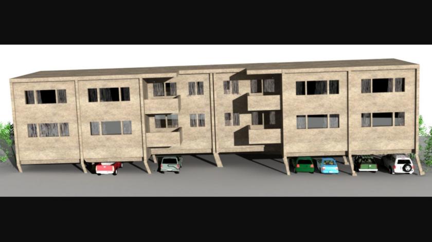 Los apartamentos de madera