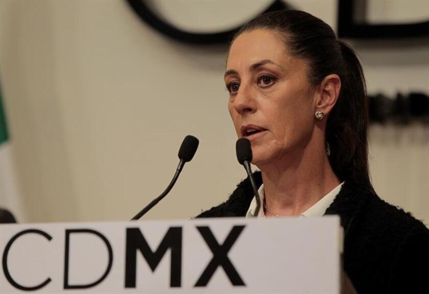 Claudia Sheinbaum, del izquierdista Movimiento Regeneración Nacional (Morena), fue declarada hoy jefa de Gobierno electa de Ciudad de México, convirtiéndose oficialmente en la primera mujer que gana las elecciones en la historia de la capital mexicana. EFE/ARCHIVO