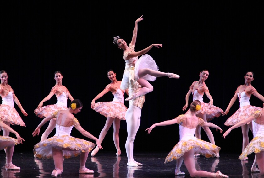"""City Ballet will present Elizabeth Wistrich's staging of Marius Petipa's """"Paquita"""" this fall."""