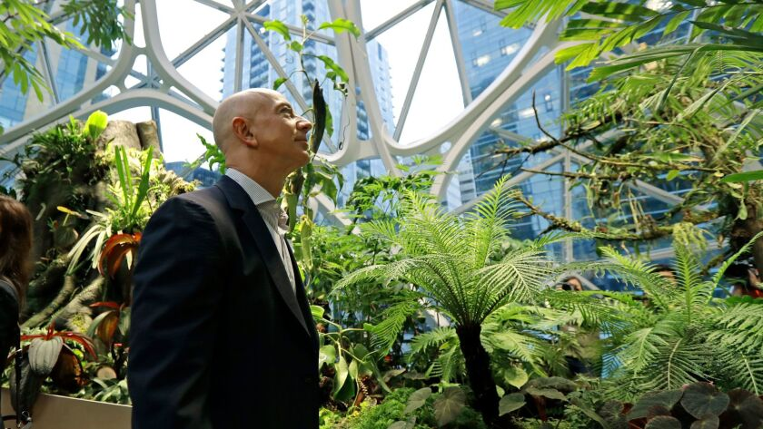 Jeff Bezos, CEO and founder of Amazon, faces pressure from his employees to do more to fight climate change.