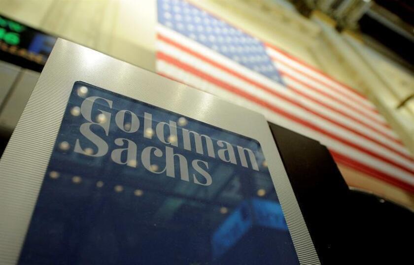 El grupo financiero estadounidense Goldman Sachs anunció hoy que en los primeros nueve meses de este año sus beneficios netos crecieron un 27 % respecto al mismo período del año pasado, hasta 7.921 millones de dólares. EFE/Archivo