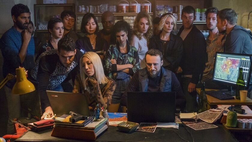 """The mind-bending sci-fi drama """"Sense8"""" returns with a feature-length series finale on Netflix."""