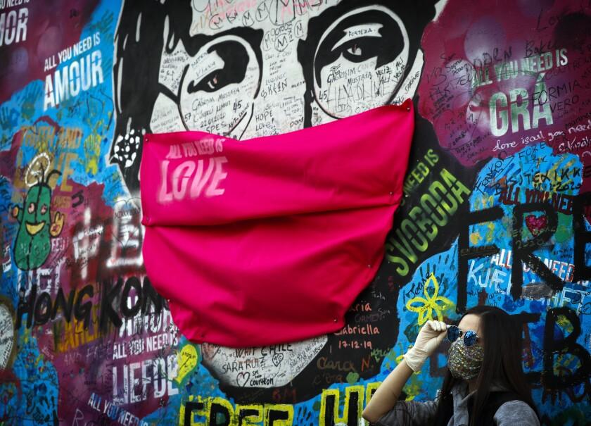 Virus Outbreak Street Art Photo Gallery