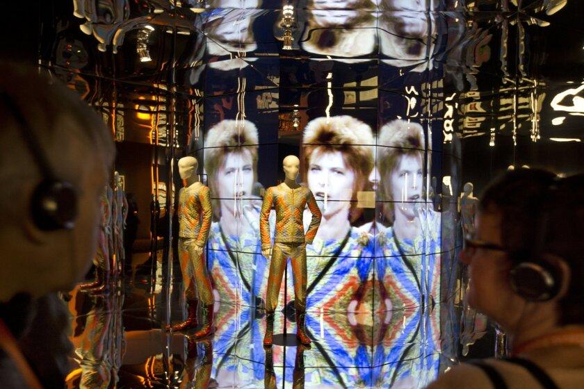 """David Bowie is..."" exhibition"