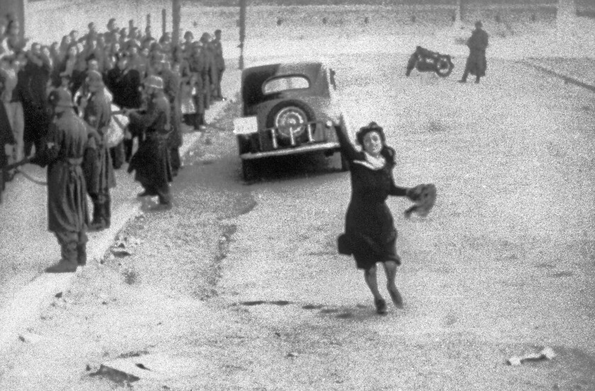 """Anna Magnani stars in """"Rome, Open City,"""" Roberto Rossellini's neorealist tale of Italian resistance to German occupation in WWII."""