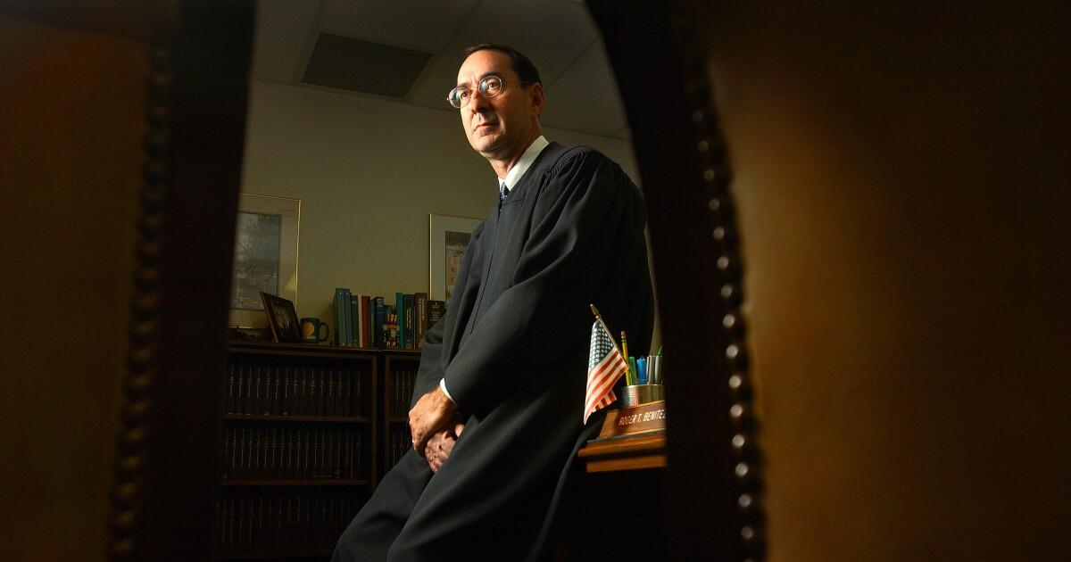 For subscribers: This San Diego judge is trying to gut state gun laws: 'Blessed' jurist or 'stone-cold idealogue?'