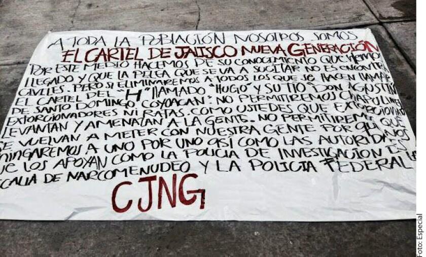 """José Alejandro """"El H"""" o """"Pepe Hijo de Pancho el Perro"""", a quien dirigieron las narcomantas colgadas en Periférico Sur, está relacionado con al menos 10 asesinatos desde el año pasado."""