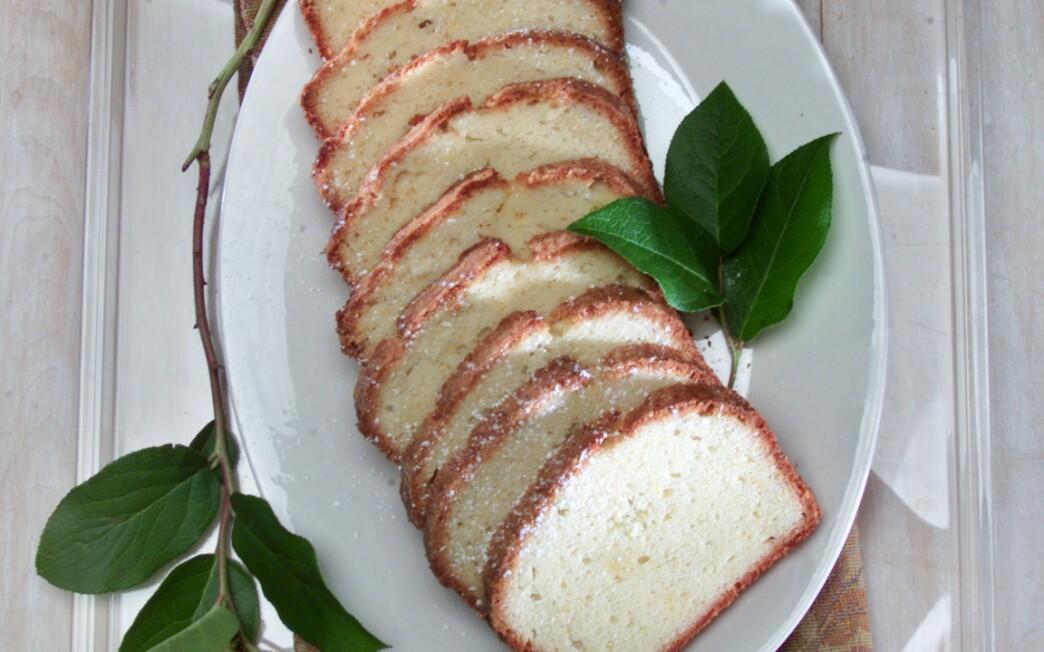 Sukkot Lemon Pound Cake