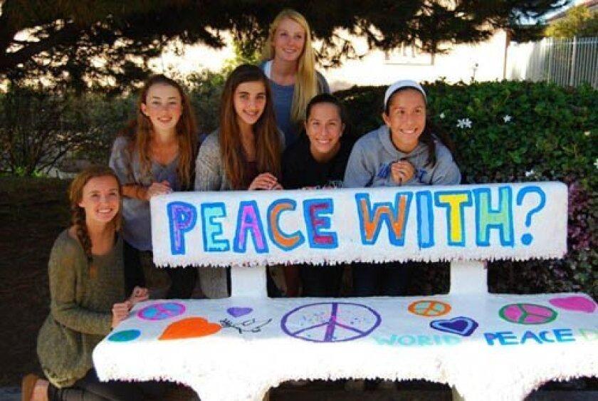 Kindness Counts club members Summer Broekema, Madeleine Garay, Talia Chalhoub, Sophia Bourne, Andrea Albanez and Julia Albanez. Courtesy Photos