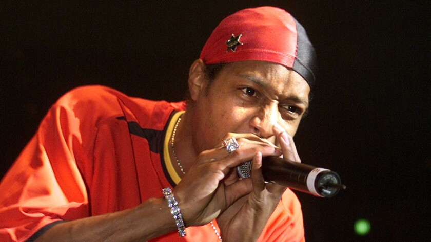 Compton's DJ Quik performs at the Novo on Feb. 1.