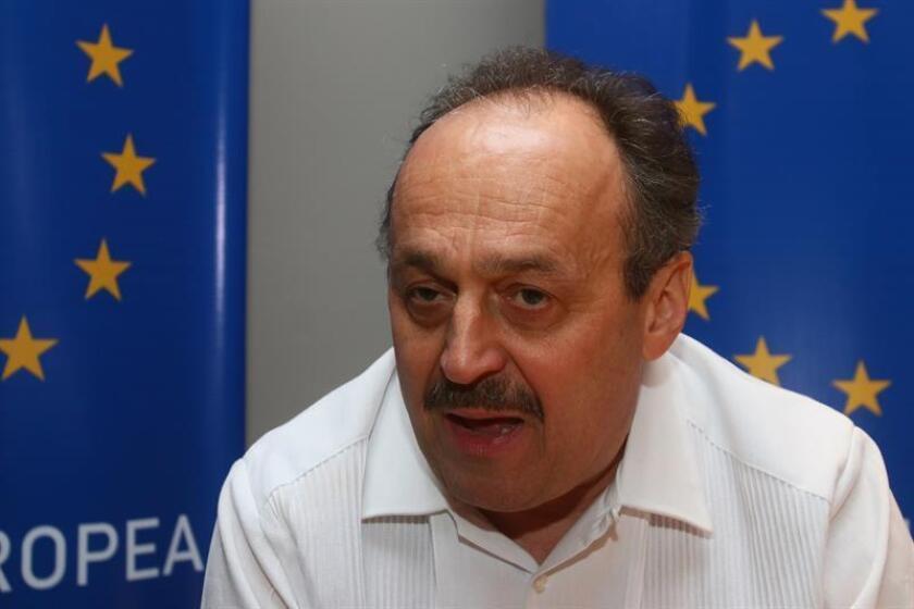 El embajador de la Unión Europea (UE) en México, Klaus Rudischhauser. EFE/Archivo