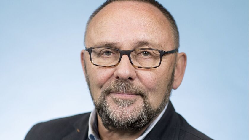 Frank Magnitz, a member of the AfD parliamentary group in Berlin, Germany.