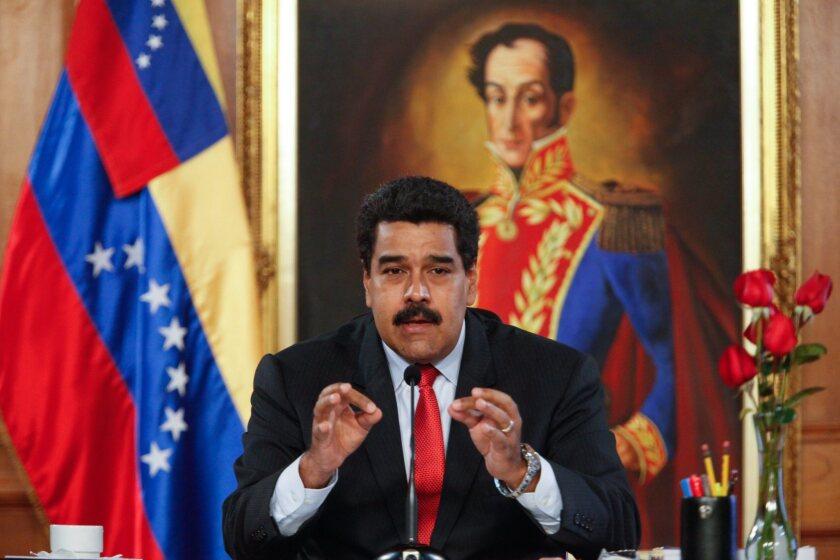 Nicolas Maduro announces changes in his cabinet