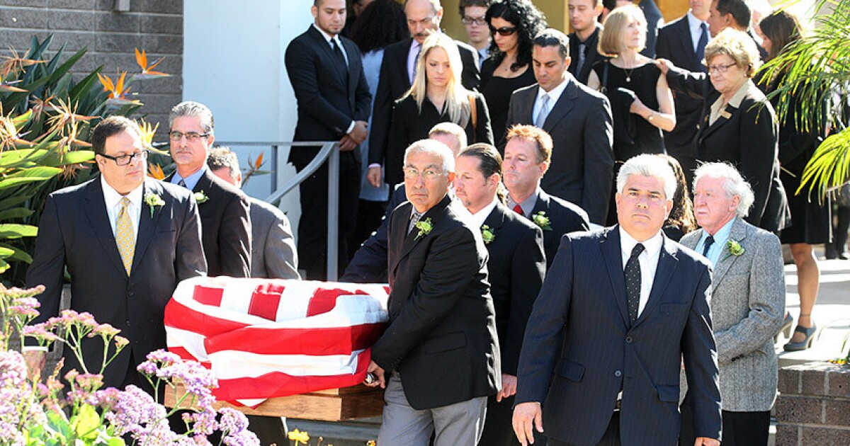Mike Gatto At Father S Funeral Our Hearts Are Broken Los Angeles Times My love of dogs, desserts and growing up italian.a portion of the proceeds will be donated to joe's favorite. mike gatto at father s funeral our