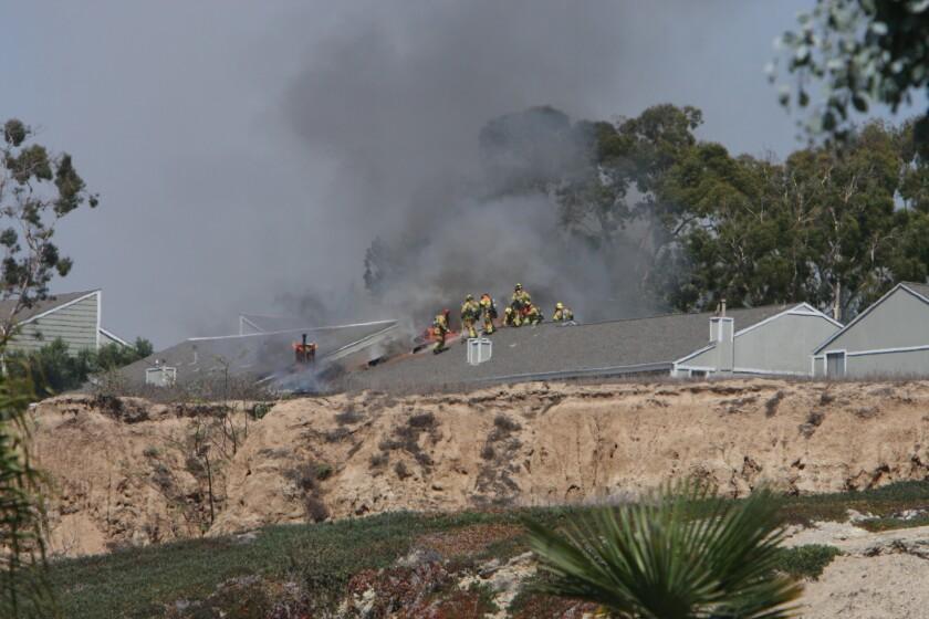 4 firefighters hurt in Newport fire