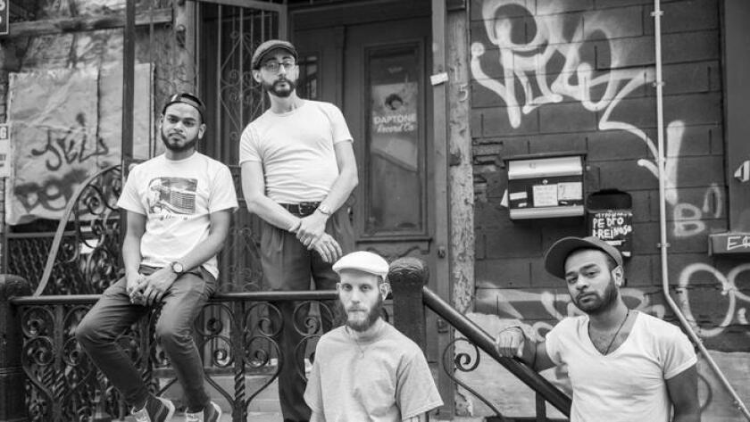 The first album from rocksteady band The Frightnrs will be out Sept. 2, just three months after frontman Dan Klein, center front, died of ALS. (/ Kisha Bari)