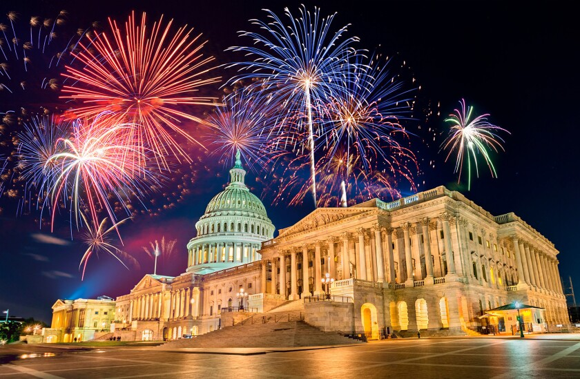 A CAPITOL FOURTH Fireworks