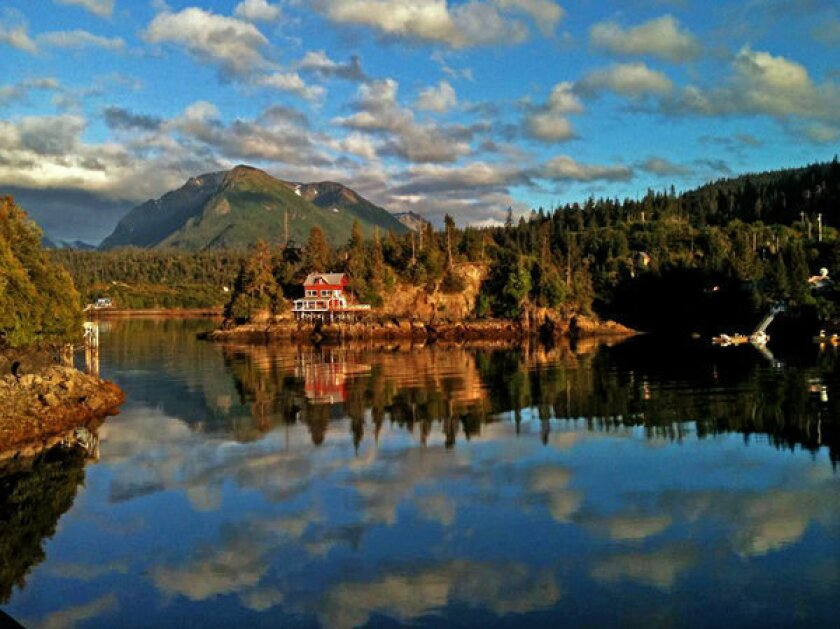 Halibut Cove in Alaska was once a fishing settlement, then a ghost town and now an artists colony and summer retreat.