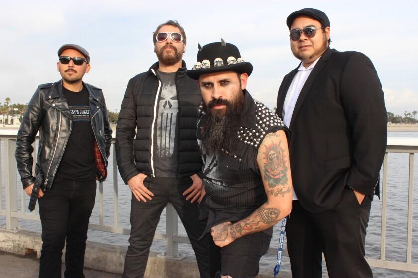 La banda de South Gate, Chencha Berrinches. sigue en plena actividad, y acaba de lanzar un EP de cuatro temas en el que prueba suerte en el inglés.