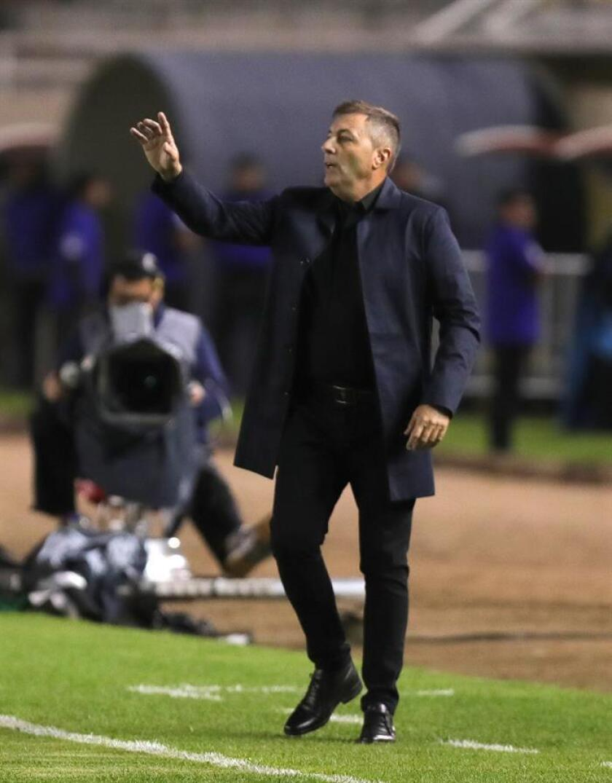 Frank Kudelka, entrenador de Universidad de Chile. EFE/Archivo