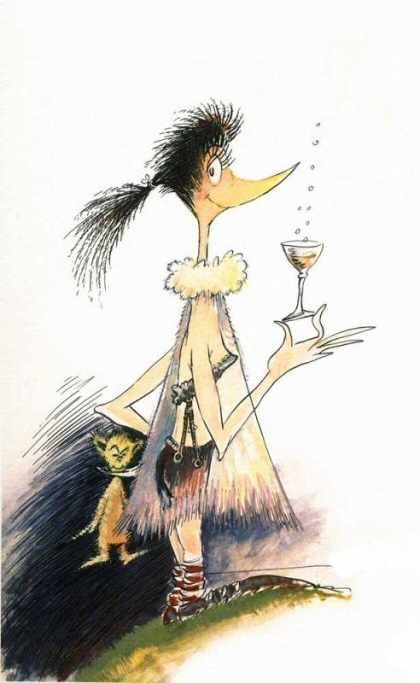 'Martini Bird' by Theodor Geisel