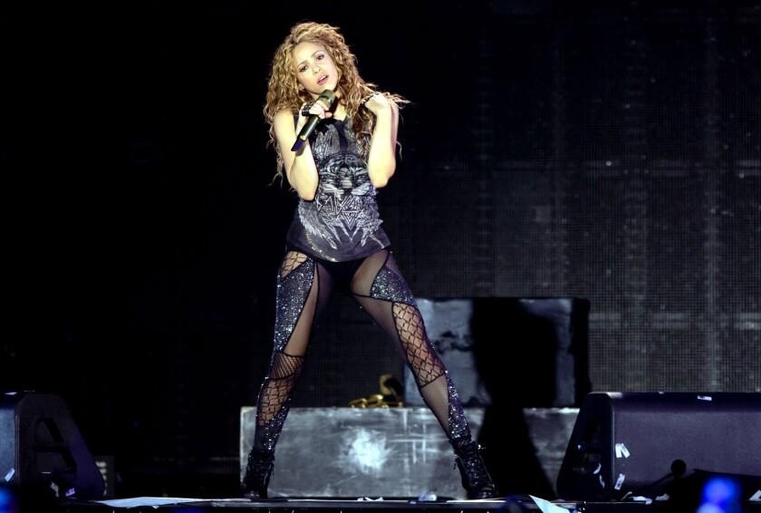 Shakira aulla en Guadalajara