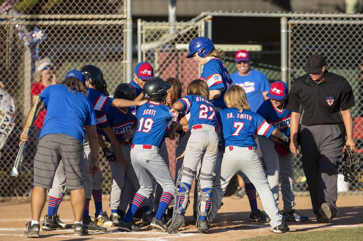 Photo Gallery: Costa Mesa Little League Mayor's Cup Game 2