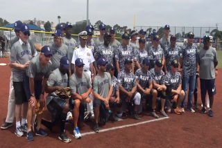 Padres alums to play U.S. Navy All-Stars softball team